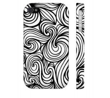 Buy Siffert Black White Iphone 4/4S Phone Case