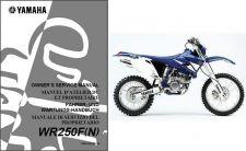 Buy 2001-2013 Yamaha WR250F Service Repair Workshop & Owner's Manual CD -- WR 250 F