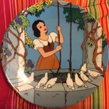 Buy The Disney Collection At The Wishing Well Collectible Plate