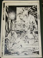 Buy Ultimate Fantastic Four Requiem Page #9 Original Comic Book Art / MARVEL Art