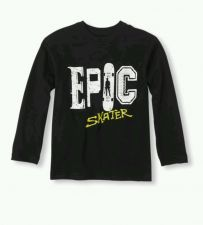 Buy The Children's Place Epic Skater Graphic T-shirt Shirt Size Small (5/6) Boys