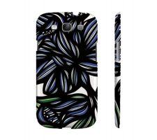 Buy Riveroll Blue White Flowers Samsung Galaxy S3 Phone Case