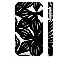 Buy Heibel Black White Iphone 4/4S Phone Case