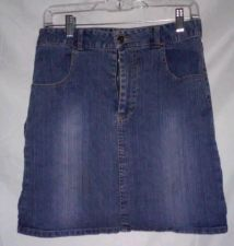 Buy EUC women's sz. 16 dreema blue denim skirt