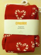 Buy Gymboree Cozy Cutie Red Leggings Size 6