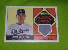 Buy MLB HING-CHIH KUO DODGERS 2010 TOPPS GAME WORN JERSEY RELIC MNT