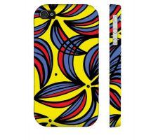 Buy Haessler Yellow Red Blue Iphone 4/4S Phone Case