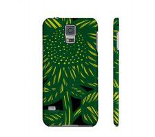 Buy Khazaleh Yellow Green Flowers Samsung Galaxy S5 Phone Case