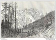 Buy CANADA - PASSAGE OF SELKIRK - engraving from 1891