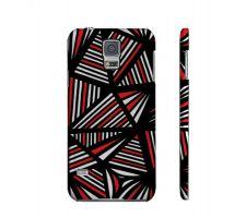 Buy Lorz Red White Black Samsung Galaxy S5 Phone Case