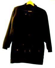 Buy EUC women's sz. XS, A-EROS, black, waist length, zippered, jacket