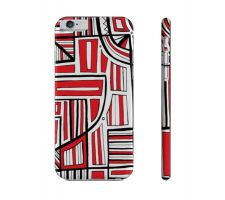 Buy Zakes Red White Black Iphone 6 Phone Case