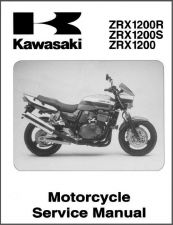 Buy 2001-2007 Kawasaki ZRX1200R ZRX1200S ZRX1200 Service Repair Manual CD - ZRX 1200 ZR