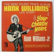 Buy YOUR CHEATIN' HEART ~ 1964 Soundtrack Recording LP Hank Williams, Jr.