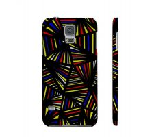 Buy Oslin Yellow Red Blue Samsung Galaxy S5 Phone Case