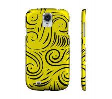 Buy Stukes Yellow Black Samsung Galaxy S4 Phone Case