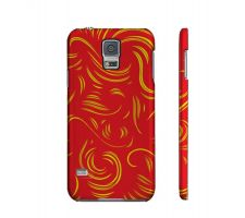 Buy Stansberry Yellow Red Samsung Galaxy S5 Phone Case