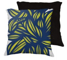 Buy 22x22 Osmus Blue Yellow White Pillow Flowers Floral Botanical Cover Cushion Case Thro