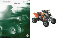 Buy 02-03 Can-Am DS 650 Baja ATV Service Repair Shop Manual CD -- BRP DS650