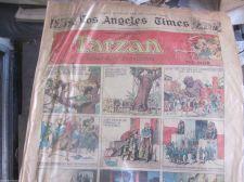 Buy Original Newspaper Comics HAL FOSTER 7-16-33 TARZAN Sun. Full Color, Mr & Mrs.+