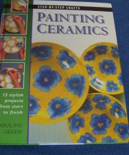 Buy Painting Ceramics Project Book by Step by Step Crafts