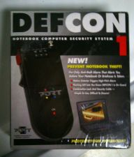 Buy new DEFCON 1 NOTEBOOK COMPUTER SECURITY SYSTEM Prevent notebook/briefcase theft