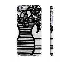 Buy Sellar Black White Flowers Floral Botanical Iphone 6 Phone Case