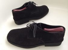Buy CALVIN KLEIN MEN'S BLACK SUEDE LACE UP DRESS SHOES SIZE 10.5 D