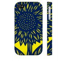 Buy Mccullars Yellow Blue Iphone 4/4S Apple Phone Case Flowers Botanical