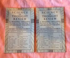 Buy SCIENCE OF THOUGHT REVIEW Applied Right Thinking Henry T. Hamblin Oct/Nov 1951