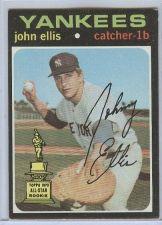 Buy VINTAGE 1971 Topps #263 John Ellis RC YANKEES NICE