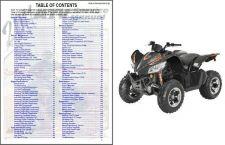 Buy 2011 Arctic Cat 450 XC ATV Service Repair Manual CD - ArcticCat 450XC