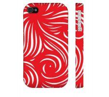 Buy Buckel Red White Iphone 4/4S Phone Case