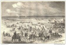 Buy CHINA - CAMPING OF HOMOUTCH - engraving from 1864