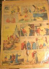 Buy FLASH GORDON Original Sunday Newspaper Strip ALEX RAYMOND 7-7-35