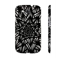 Buy Albares Black White Samsung Galaxy S3 Phone Case