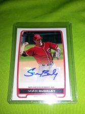 Buy MLB SEAN BUCKLEY REDS 2012 BOWMAN CERTIFIED AUTO MNT