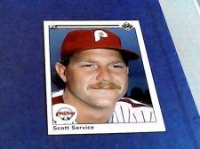 Buy upper deck 1990 scott service card 35 philles baseball card
