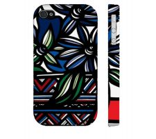 Buy Fetterolf Blue White Flowers Floral Botanical Iphone 4/4S Phone Case