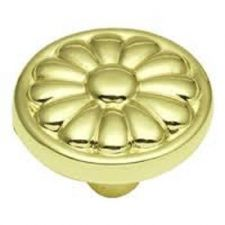Buy 1 Belwith #P531-PB 1 1/4'' Polished Brass Knobs PULL
