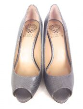 Buy Vince Camuto Shoes 7 Womens Gray Leather Heels