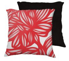 Buy Swilley 18x18 Red White Pillow Flowers Floral Botanical Cover Cushion Case Throw Pill