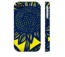 Buy Siverling Yellow Blue Iphone 4/4S Apple Phone Case Flowers Botanical