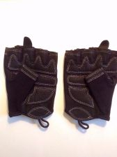 Buy Women's Fingerless Fitness Gym Gloves for Aerobics, Yoga, Pilates, Large Size