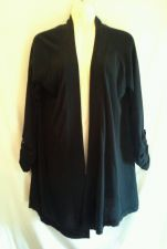 Buy Express Black Large Cotton Sweater Shrug Soft