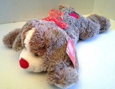 Buy Floppy Love Puppy Plush Dog Heart Brown 12""