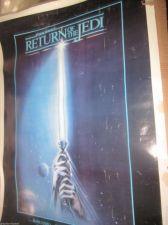 Buy Return of the Jedi Movie Poster STAR WARS original old #830013 One Sheet