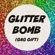 Buy Glitter Bomb Mail Send Prank Gag Gift Letter Note Card FUNNY Anonymous enemy
