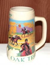 Buy LIMITED EDITION OAK TREE 1997 LIMITED EDITION BEER STEIN SANTA ANITA PARK
