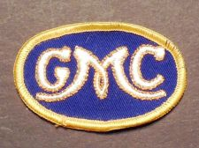 Buy Vintage GMC Sew on Cheese Cloth Patch